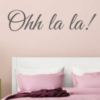 Ohh La La! ~ Wall sticker / decals